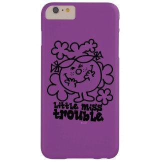 Kleines Fräulein Trouble | schwarz u. Weiß Barely There iPhone 6 Plus Hülle