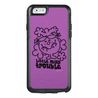 Kleines Fräulein Trouble | schwarz u. Weiß OtterBox iPhone 6/6s Hülle