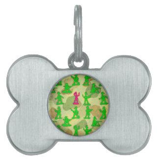 Kleines grünes Armee-Einhorn Tiermarke