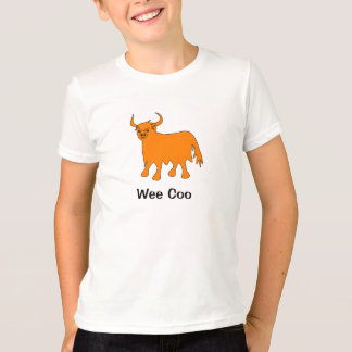 """Kleines Gurren-"" Hochland-Kuht-shirt Entwurf T-Shirt"