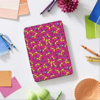 Kleines helles rosa Muster Fräulein-Chatterbox | iPad Air Hülle