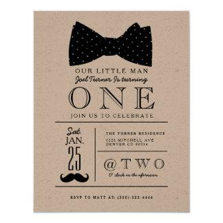 Kleines Herr-Geburtstags-Party laden ein 10,8 X 14 Cm Einladungskarte