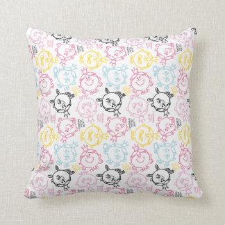 Kleines hübsches Pastell-Muster Kissen