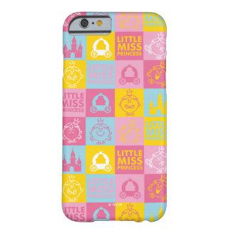 Kleines hübsches Pastellmuster Fräulein-Prinzessin Barely There iPhone 6 Hülle