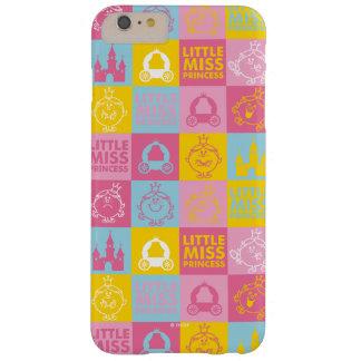 Kleines hübsches Pastellmuster Fräulein-Prinzessin Barely There iPhone 6 Plus Hülle