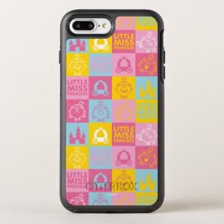 Kleines hübsches Pastellmuster Fräulein-Prinzessin OtterBox Symmetry iPhone 8 Plus/7 Plus Hülle