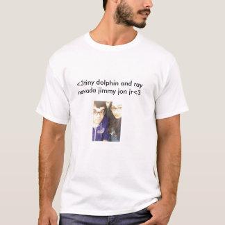 Kleines jr. Delphin-und Strahln-Nevada-Jimmy Jon T-Shirt