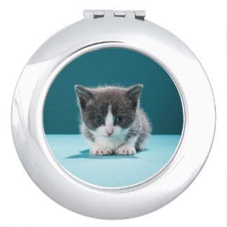 Kleines Kätzchen Schminkspiegel
