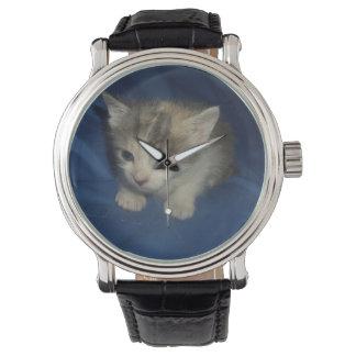 Kleines Kätzchen Uhr