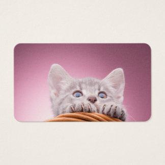 Kleines Kätzchen Visitenkarte