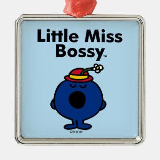 Kleines kleines Fräulein Bossy Fräulein-  ist so Silbernes Ornament