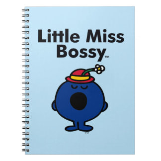 Kleines kleines Fräulein Bossy Fräulein-| ist so Spiral Notizblock