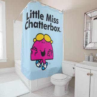 Kleines kleines Fräulein Chatterbox Fräulein-  ist Duschvorhang