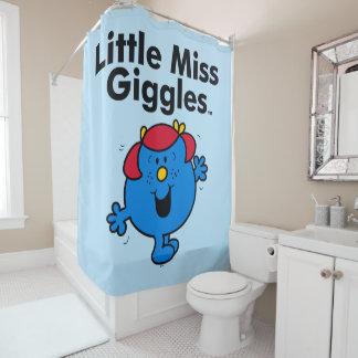 Kleines kleines Fräulein Giggles Likes To Laugh Duschvorhang