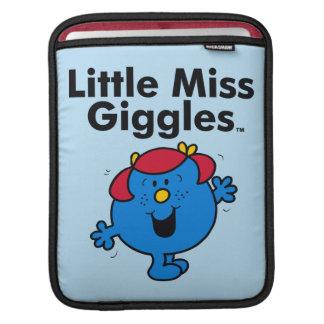 Kleines kleines Fräulein Giggles Likes To Laugh iPad Sleeve