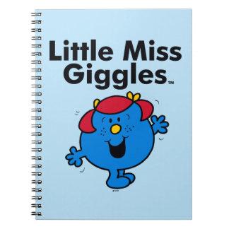 Kleines kleines Fräulein Giggles Likes To Laugh Notizblock