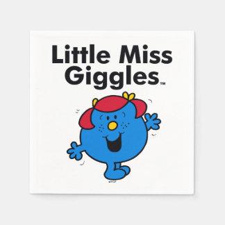 Kleines kleines Fräulein Giggles Likes To Laugh Serviette