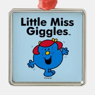 Kleines kleines Fräulein Giggles Likes To Laugh Silbernes Ornament