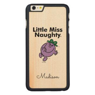 Kleines kleines Fräulein Naughty Fräulein-| ist so Carved® Maple iPhone 6 Plus Hülle
