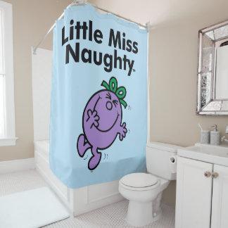 Kleines kleines Fräulein Naughty Fräulein-  ist so Duschvorhang