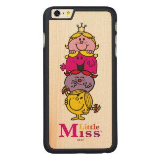 Kleines kleines Fräulein Standing Tall Fräulein-| Carved® Maple iPhone 6 Plus Hülle