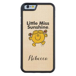 Kleines kleines Fräulein Sunshine Fräulein-| ist Bumper iPhone 6 Hülle Ahorn