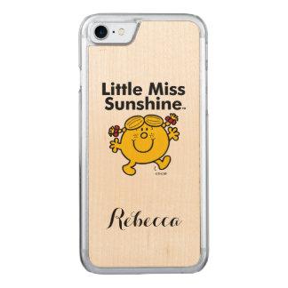 Kleines kleines Fräulein Sunshine Fräulein-| ist Carved iPhone 8/7 Hülle