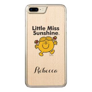 Kleines kleines Fräulein Sunshine Fräulein-| ist Carved iPhone 8 Plus/7 Plus Hülle