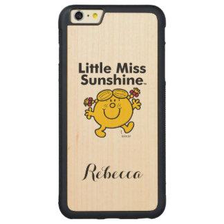 Kleines kleines Fräulein Sunshine Fräulein-| ist Carved® Maple iPhone 6 Plus Bumper Hülle