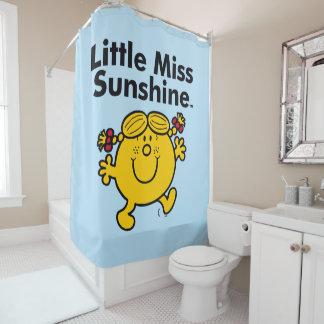 Kleines kleines Fräulein Sunshine Fräulein-  ist Duschvorhang