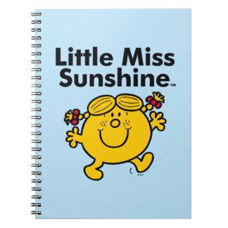 Kleines kleines Fräulein Sunshine Fräulein-| ist Notizblock