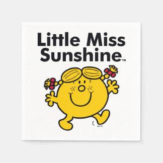Kleines kleines Fräulein Sunshine Fräulein-| ist Serviette