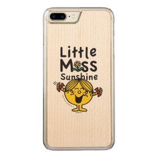 Kleines kleines Fräulein Sunshine Laughs Carved iPhone 8 Plus/7 Plus Hülle