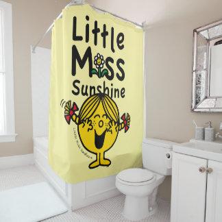 Kleines kleines Fräulein Sunshine Laughs Duschvorhang
