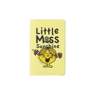 Kleines kleines Fräulein Sunshine Laughs Moleskine Taschennotizbuch