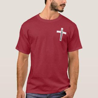 Kleines Kreuz u. Klinge T-Shirt