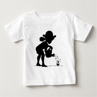 Kleines Mädchen-Gärtner Baby T-shirt