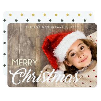 Kleines Mädchen mit einem Lächeln u. einer Hut Karte