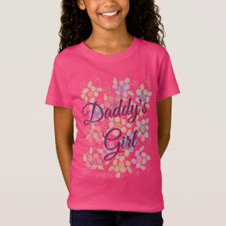 Kleines Mädchen-Vati-T-Stück T-Shirt