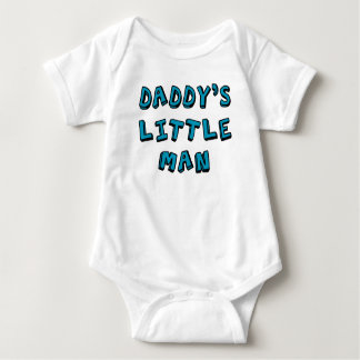Kleines Mannbaby des Vatis Babybody