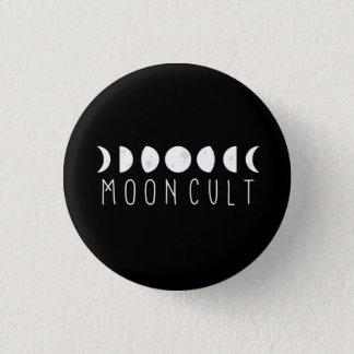 Kleines MoonCult Phasen-Button Runder Button 2,5 Cm