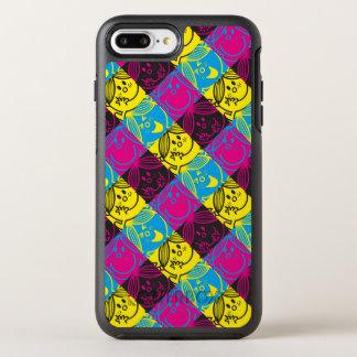 Kleines Neonmuster Fräulein-Sunshine   OtterBox Symmetry iPhone 8 Plus/7 Plus Hülle