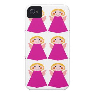 Kleines niedliches Engelsrosa Case-Mate iPhone 4 Hüllen