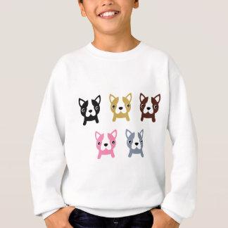 Kleines niedliches Hundewunderbares gefärbt Sweatshirt
