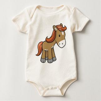 Kleines Pferd Baby Strampler