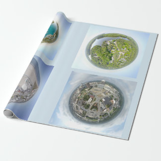 Kleines Planeten-Packpapier Geschenkpapier