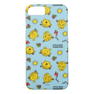 Kleines Polka-Punkt-Muster Fräulein-Sunshine   iPhone 8/7 Hülle