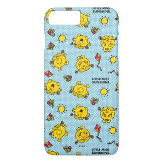 Kleines Polka-Punkt-Muster Fräulein-Sunshine   iPhone 8 Plus/7 Plus Hülle