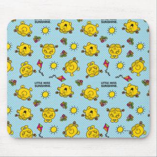 Kleines Polka-Punkt-Muster Fräulein-Sunshine | Mousepad
