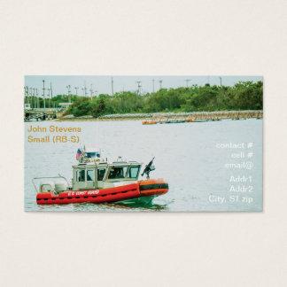 Kleines (RB-S) Boot der Küstenwache Visitenkarte